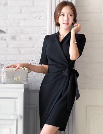 Elegant Dress From Styleonme Korean Fashion Women Fashion Feminine Look Classy Look Office