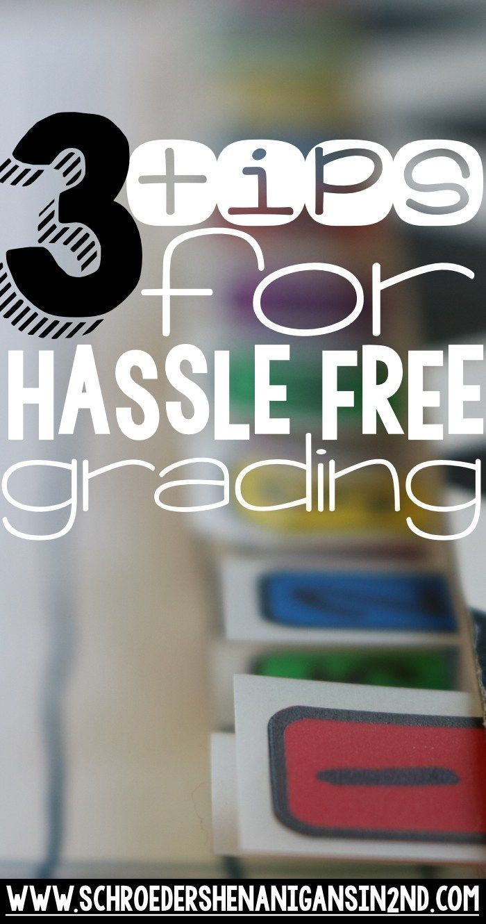 This grading system of mine will help teachers organize grading papers and prepare for writing report card comments. I'm sharing 3 tips and a periscope video to help teachers plan for report cards.