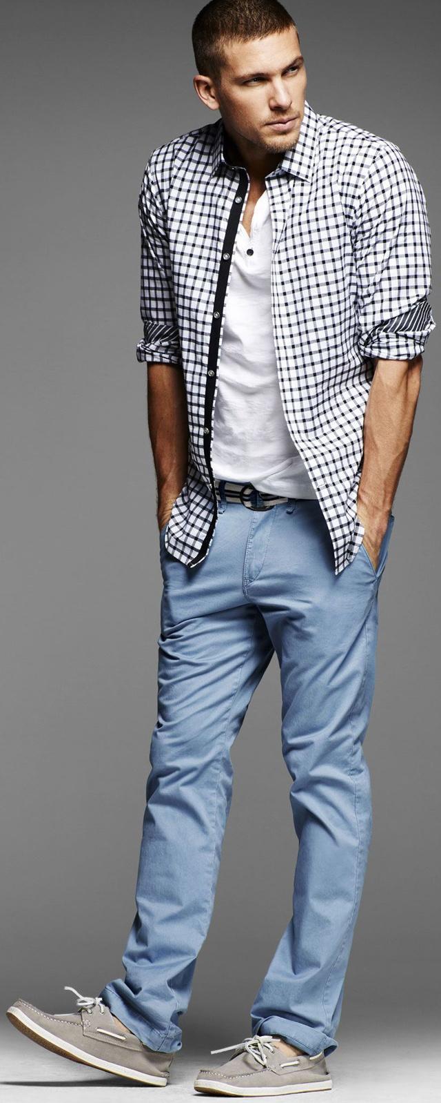 Fresh! ::light blues & greys... (Adam Senn for Express Summer 2012)