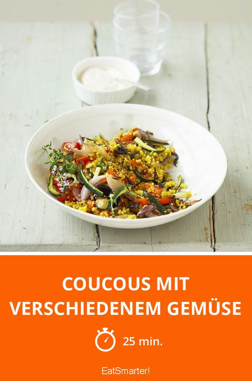 Coucous mit verschiedenem Gemüse