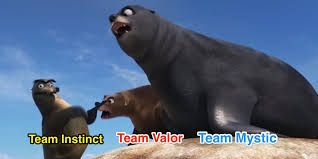 Image result for valor takes pokemon gyms memes