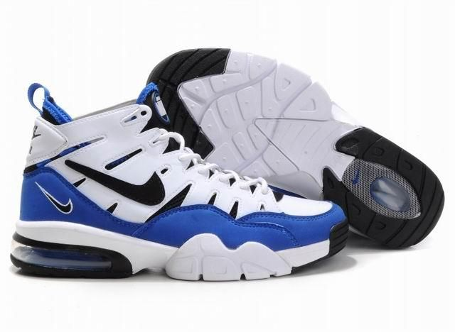 Nike Air Foamposite Shoes Nike Air Trainer Max 2 94 White Black Treasure  Blue [Nike Air Trainer Max 2 94 - Featuring treasure blue mudguard, inner  liner and ...