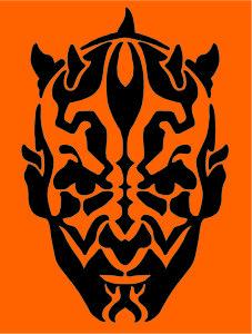 Star Wars Jack O Lantern Printable Stencils
