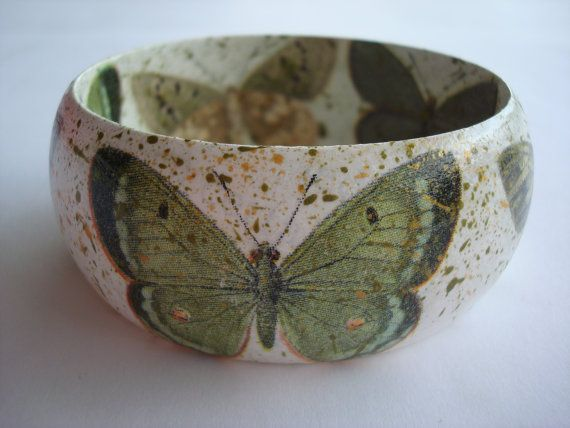 Green Butterfy Bracelet Butterfies BraceletButterfies by Valelval