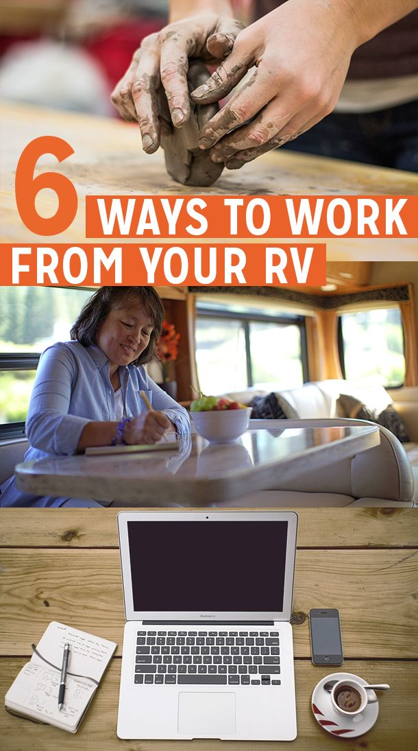 6 Ways to Work from Your RV via RoverPass. Work remotely while you traveling has never been easier. Find out how you can do it!