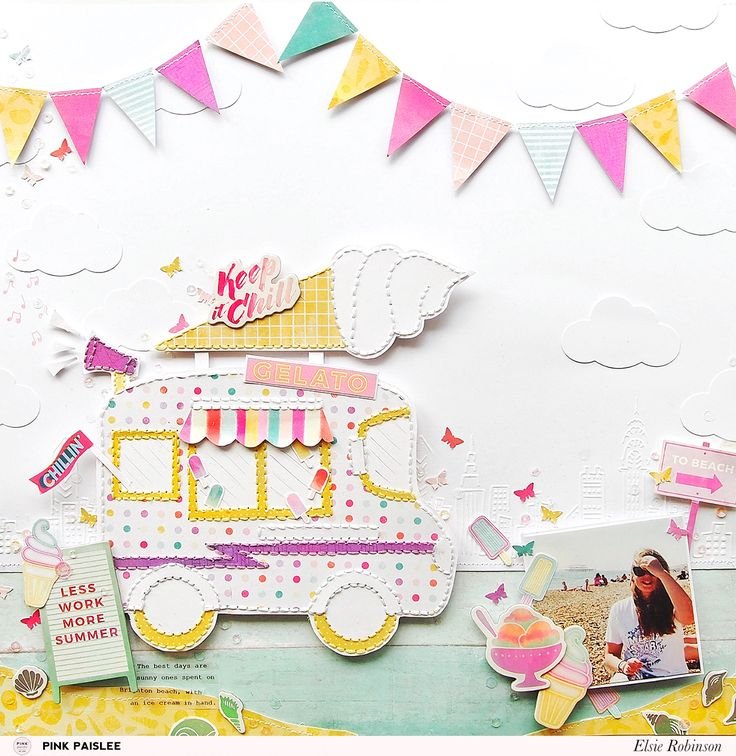 Document your favourite summer sweet treats with the new Summer Lights collection!