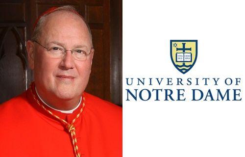 Cardinal Dolan named Notre Dame's 2013 commencement speaker :: Catholic News Agency (CNA)