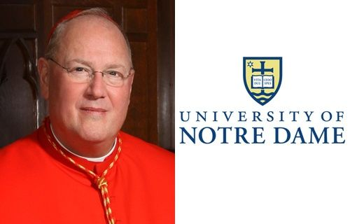 Cardinal Dolan named Notre Dame's 2013 commencement speaker :: Catholic News Agency (CNA)