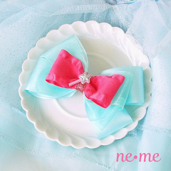 Fairy Godmother Inspired Bow Fairy Godmother Hair by nemehairbows