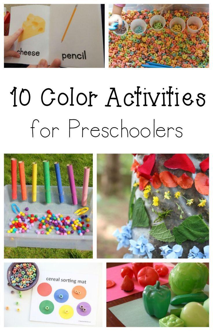131 best color activites images on pinterest activities color