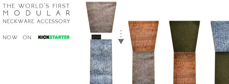 now on KS  #modular #accessory #neckwear #madeinitaly #noknots #tie #cravatta #man #style #double #side #eclectic #eclepti