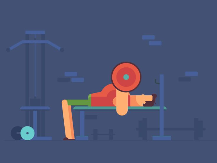 Bench Press by Valentin Kirilov for Motion Authors