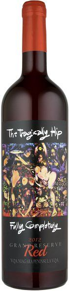 The Tragically Hip Grand Reserve Red Fully Completely
