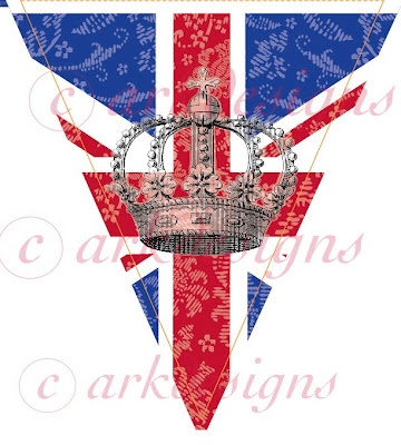 bunting for the jubilee