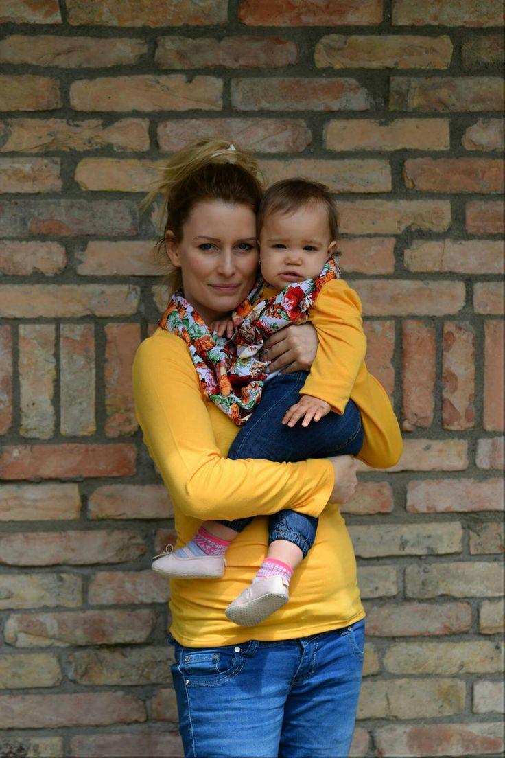Mother and daughter matching outfit - Tavaszi körsálas anya-lánya szett www.minniemes.com