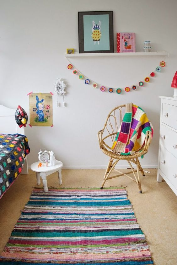 Colorful kids room inspiration