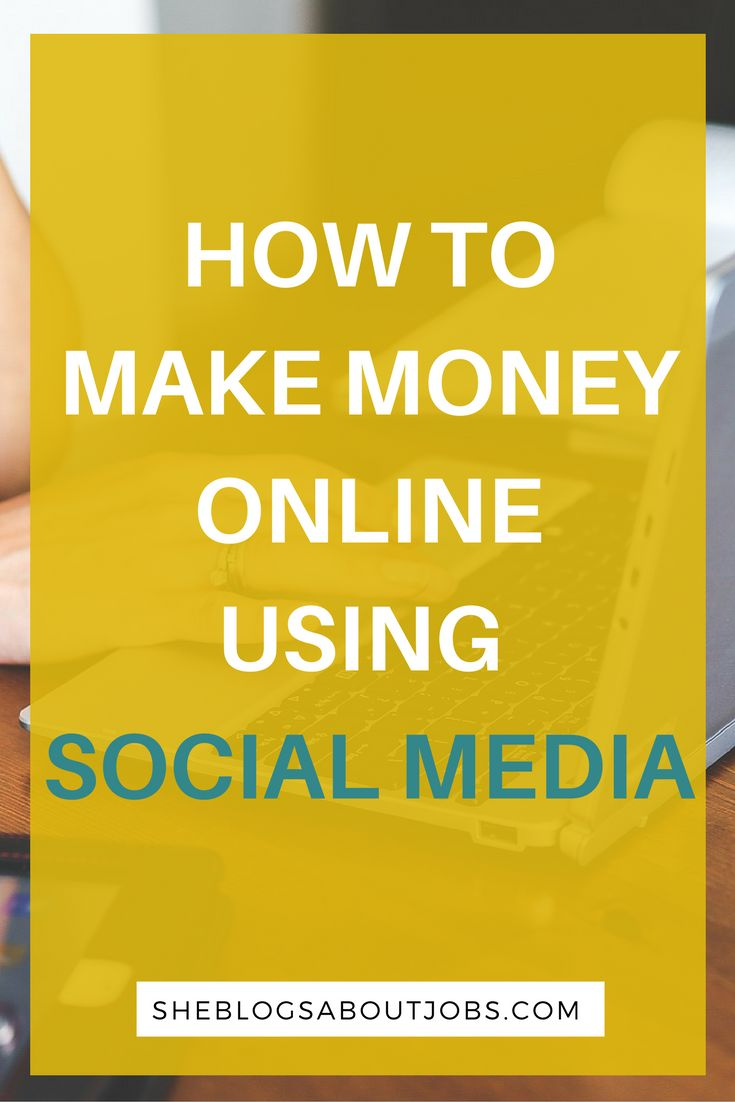 This is a post on how to make money online using social media. If you're one to spend tons of time on socail media, you could be making some good money online. Read this post to find out how you can use social media to make some money online