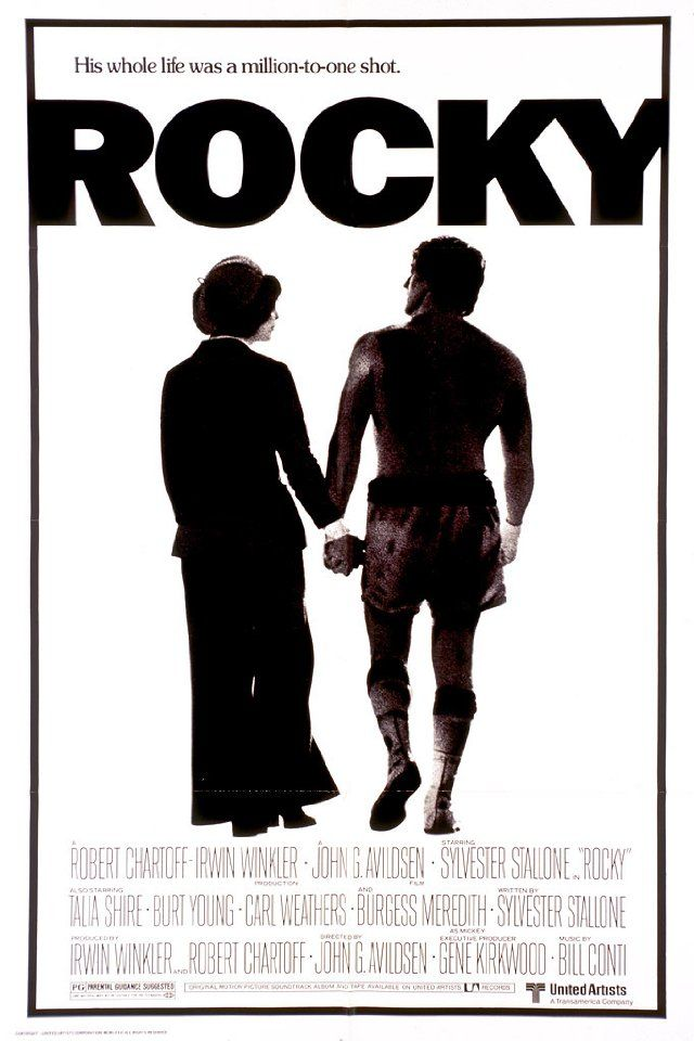"""Rocky: """"Ah come on, Adrian, it's true. I was nobody. But that don't matter either, you know? 'Cause I was thinkin', it really don't matter if I lose this fight. It really don't matter if this guy opens my head, either. 'Cause all I wanna do is go the distance. Nobody's ever gone the distance with Creed, and if I can go that distance, you see, and that bell rings and I'm still standin', I'm gonna know for the first time in my life, see, that I weren't just another bum from the neighborhood."""""""