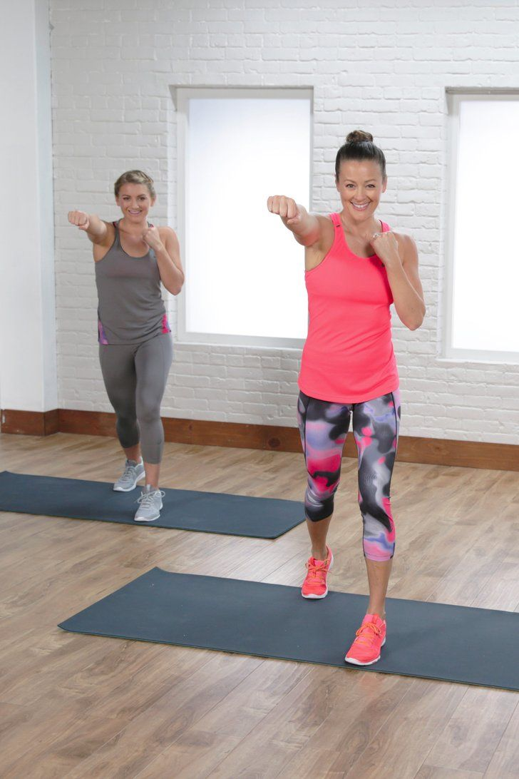 Burn Fat and Build Muscle With This Full-Body Cardio Workout