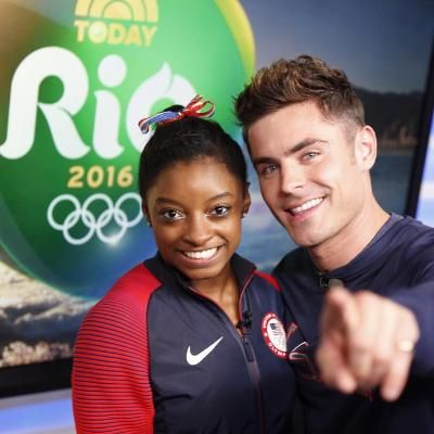 "Hot: Zac Efron Explains Why He Flew to Rio to Surprise Simone Biles and the Final Five: ""They Have Such Heart"""