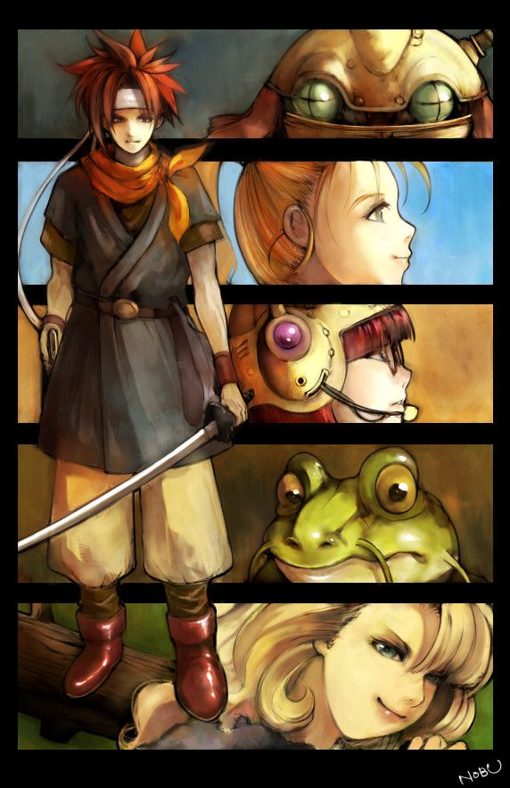 Chrono Trigger. A true masterpiece in the RPG world. Would love to see a remake <3