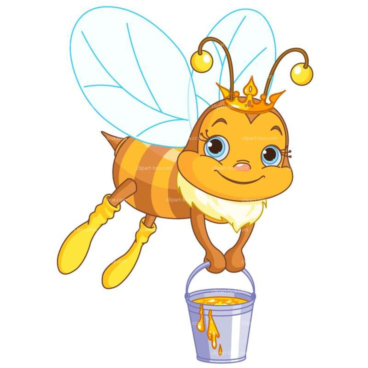 CLIPART HONEY BEE | Royalty free vector design