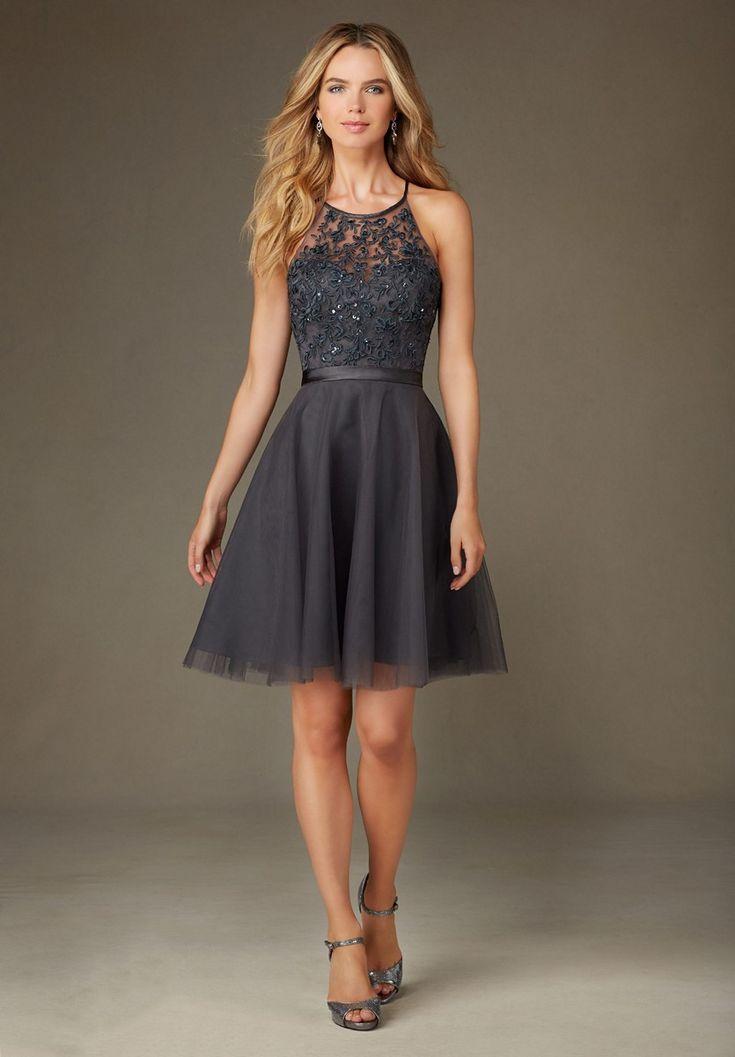 Mori Lee 135 Bridesmaid Dress