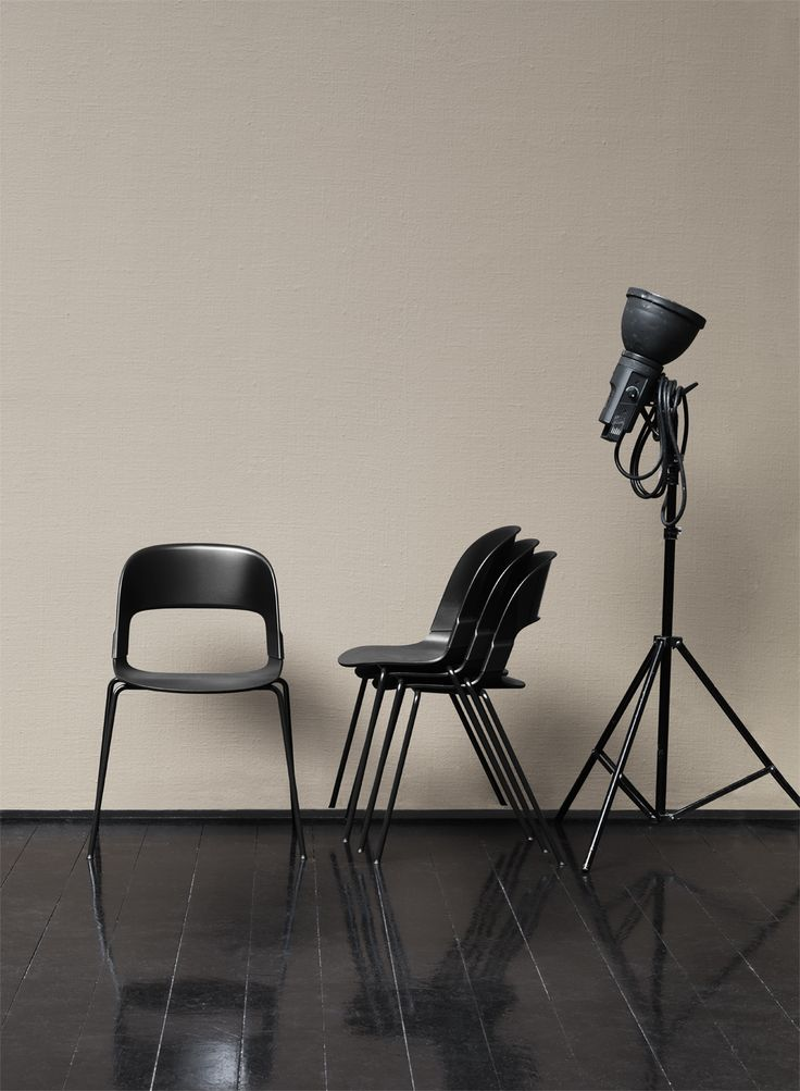 Fritz Hansen - NEW CHAIR. Pair™ - designed by British industrial designer Benjamin Hubert.
