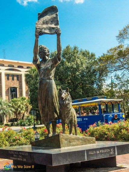 Tour Savannah River walk and dramatic Bonaventure Cemetery in Part 2 of a one day visit to Savannah. Photos.
