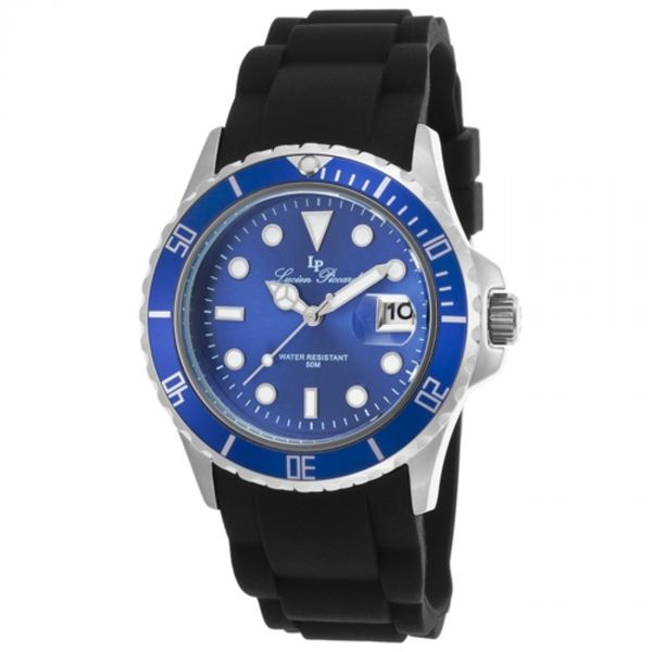 Lucien Piccard Women's Vaux LP-12883-03 Blue Watch - Overstock™ Shopping - Big Discounts on Lucien Piccard Women's Lucien Piccard Watches