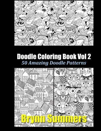 Doodle Coloring Book Vol 2 By Penny Hing Graphics Http Www