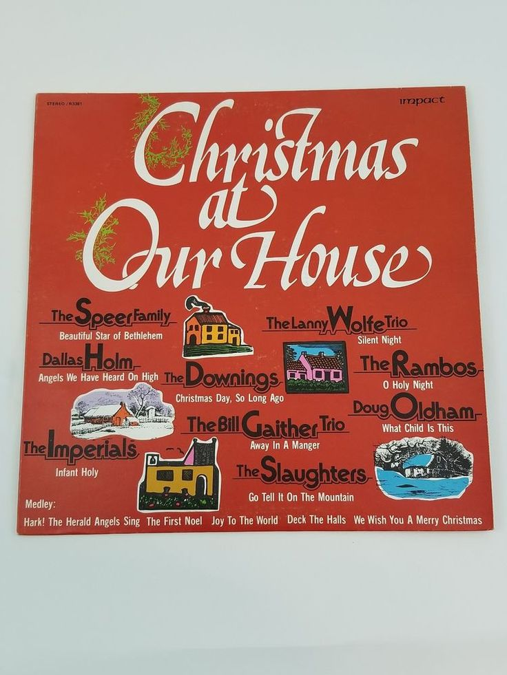 Christmas At Our Home Music Vinyl LP Album 1975 R3381 #Christmas