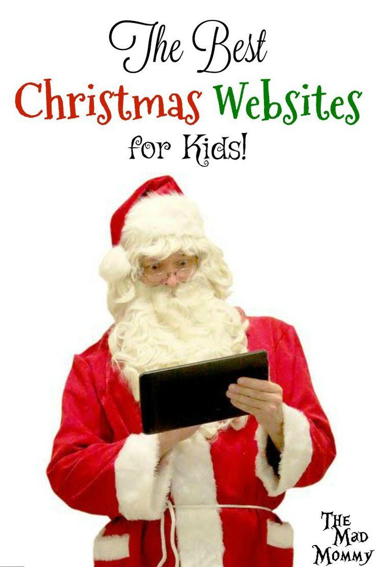The Best Christmas Websites for Kids! | Christmas websites