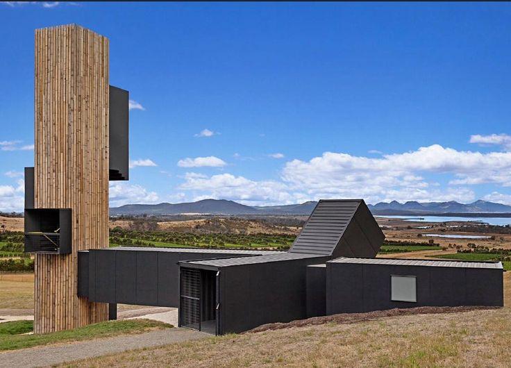 Lookout Devils Corner Winery Tasmania @devilscornerwine  Cumulus Studio Architects @cumulus_studio  Photo Tanja Milbourne @tmilbourne