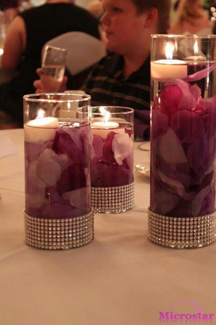 100 pcs de Seda Pétalas de Rosa Confetti Mesa De Flor Artificial Artesanato Em Eventos da Festa de Casamento Do Chuveiro de Bebê Decoração Fontes do Casamento…