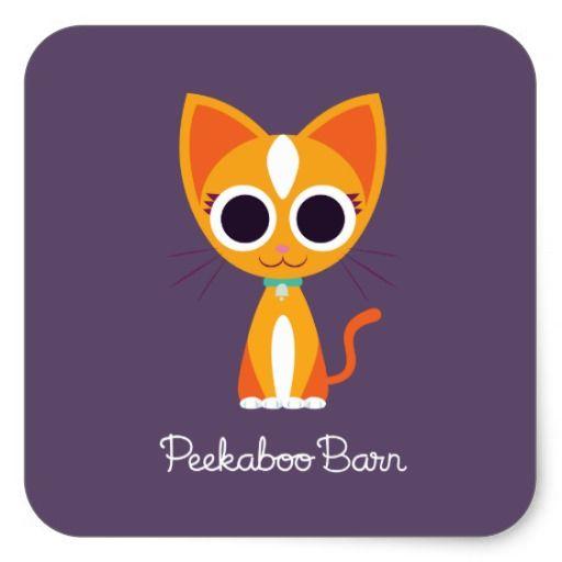Purrl the Cat #sticker
