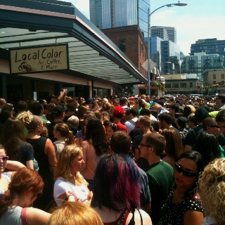 Seattlites excited to see Will Ferrell! #pikeplace: Seattle Pics, Sound, Pikeplace, Seattlites Excited, Will Ferrell
