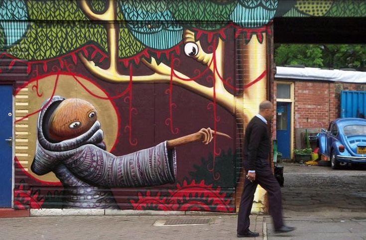 online shop design Incroyable Street Art Illustrations par Phlegm