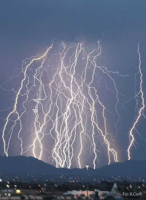 The most fabulous lightning storm I ever saw was over the Panama Canal   Lightning storm