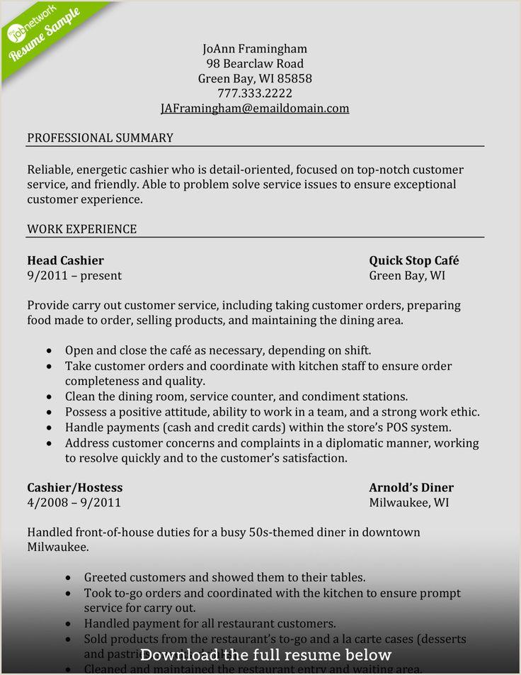 Cv format for cashier job good resume examples job