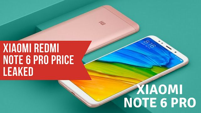 Xiaomi Redmi Note 6 Pro Price Leaked 3 Colors Option Image Credit