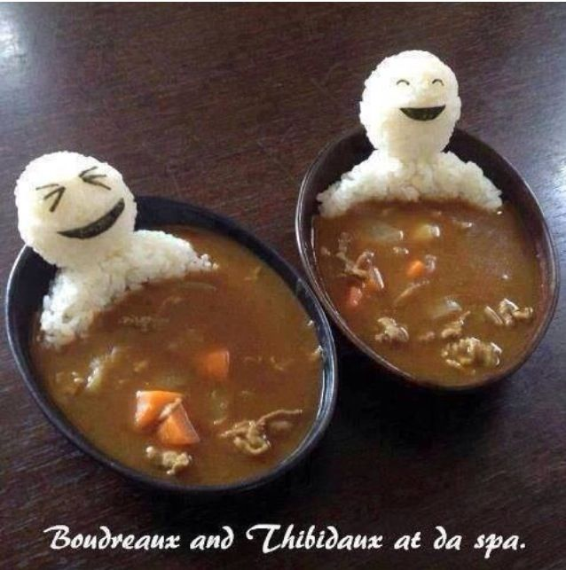 Cute, funny and tasty #gumbo