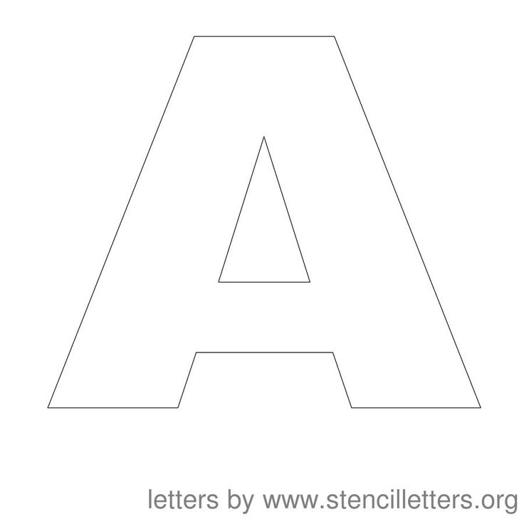37+ Block letter stencils to print free ideas in 2021