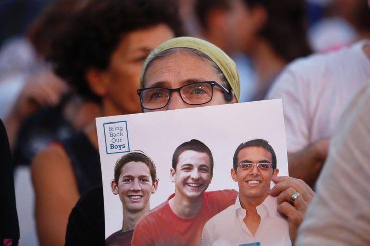 Leichenfunde in Israel: Trauer um Gilad, Eyal und Naftali