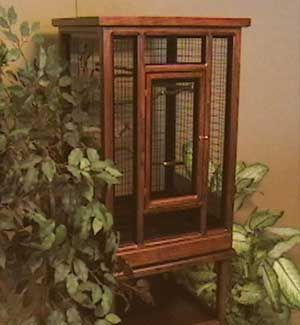 Canary Cage. So I can always here the birds singing.