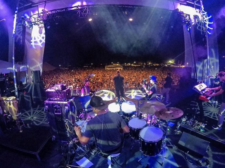We had a great weekend at  @reggaeriseup_florida. Always a good time hanging with all our friends and playing for a sea of smiling faces. Off for a week before we play Jackson Hole Rendezvous with Zac Brown Band on March 18th : @jessbernsteinphotography #reggaeriseup #reggaeriseupflorida #gopromusic #iration