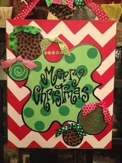 CHRISTMAS GIVEAWAY ~ PERSONAL PIZAZZ BY LINDSEY ON FACEBOOK!!!! 20X24 HANDPAINTED CANVAS $60 VALUE ~ WINNER ANNOUNCED NEXT SUNDAY AT MIDNIGHT