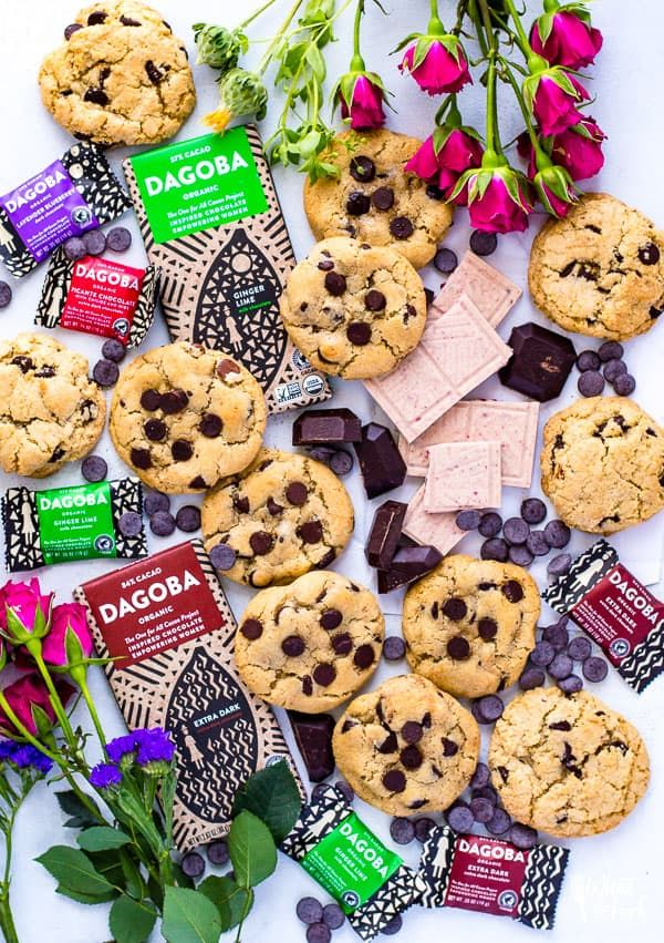 DAGOBA-Chocolate-Empowering-Women-Sweepstakes - Bakery Style Gluten Free Chocolate Chip Cookies