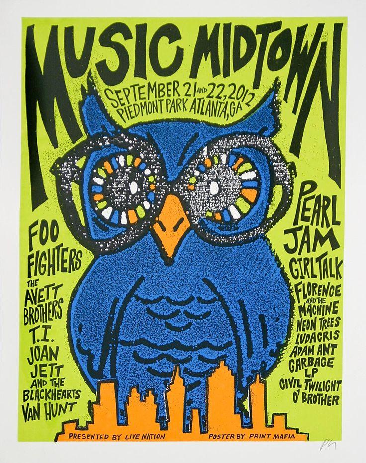 MidTown Music Festival Atlanta 2012