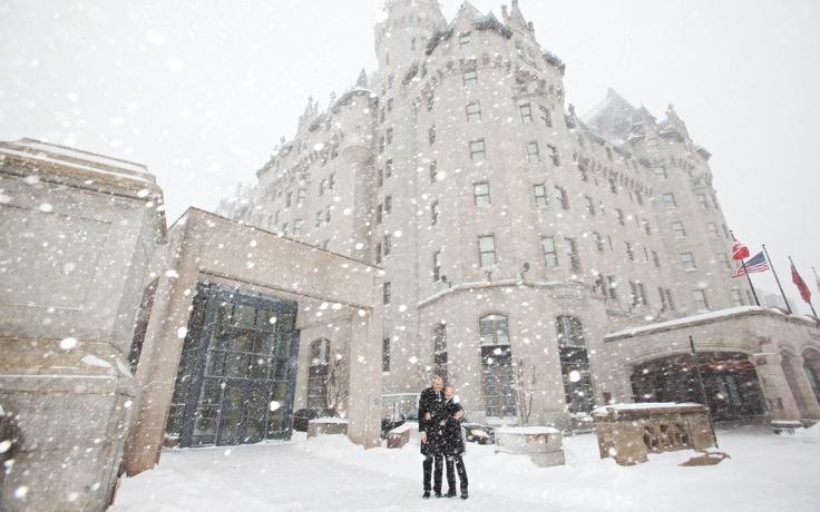 Ottawa Wedding Photography. Winter Wedding at the Chateau Laurier Hotel.  Ottawa Gay Wedding.
